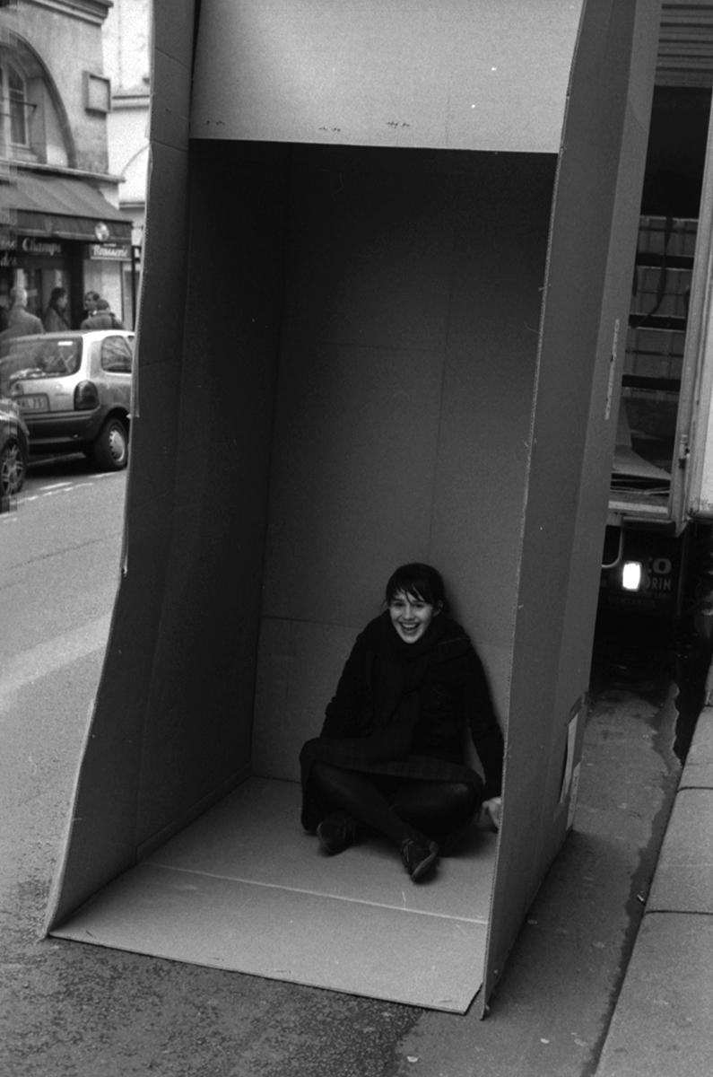 Lue dans le carton rue des Petits Champs