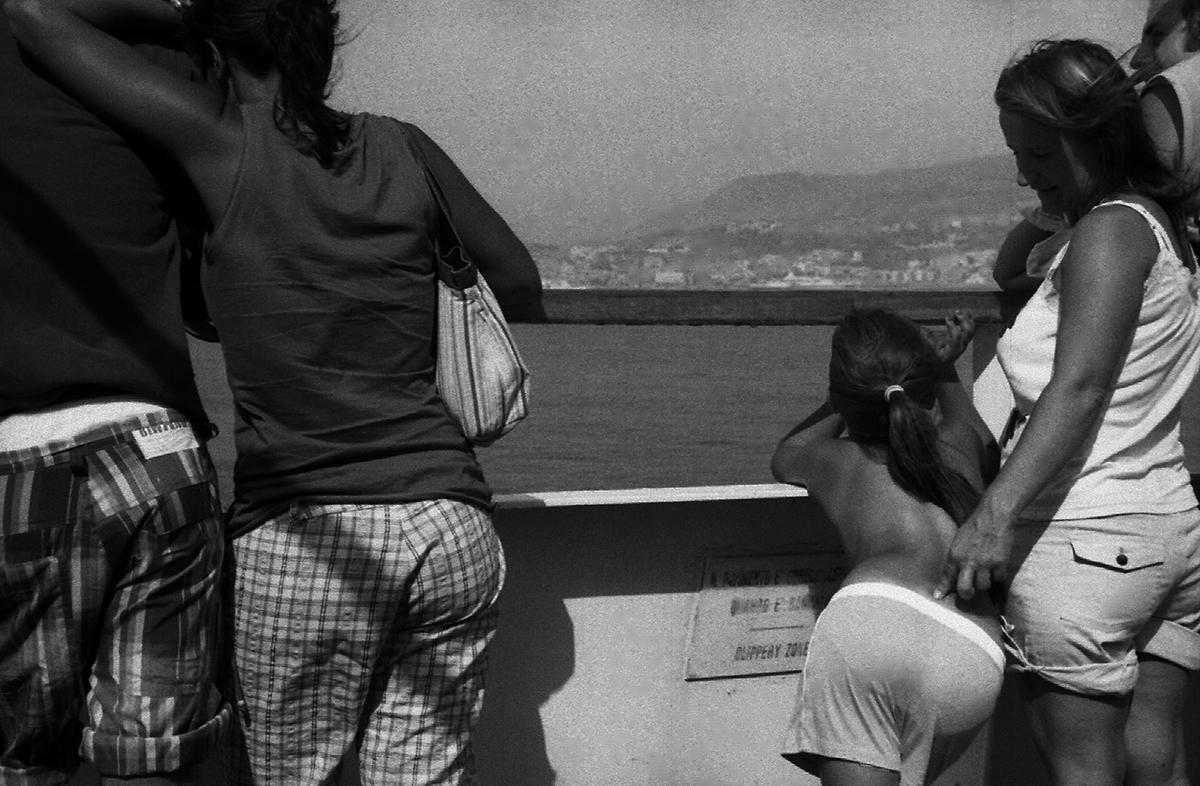 Ferry boat de retour pour Reggio Calabria Reggio Calabria