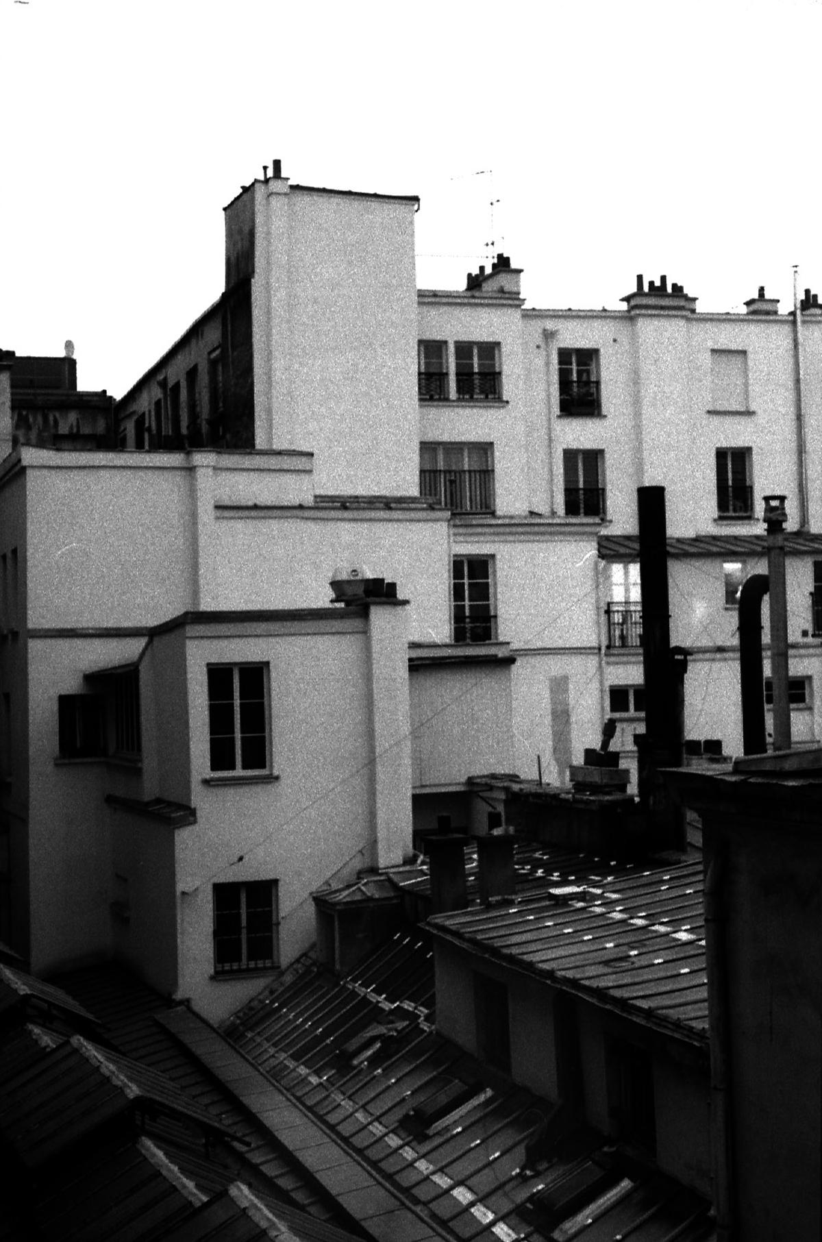 Premier soir sur le passage des Panoramas Lue Rue Saint Marc Paris