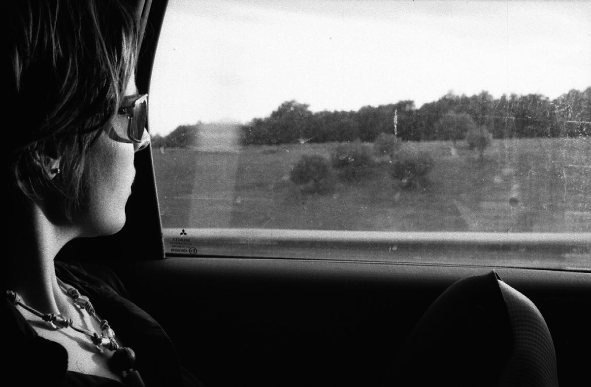 Valentina Grassi sur la route de Narni