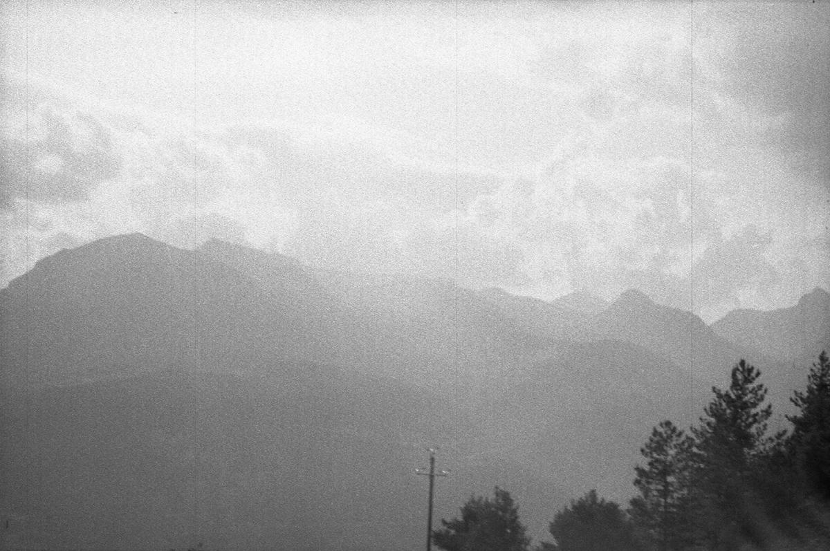 (chuuuuuut) La route du sud Les Chalps La montagne