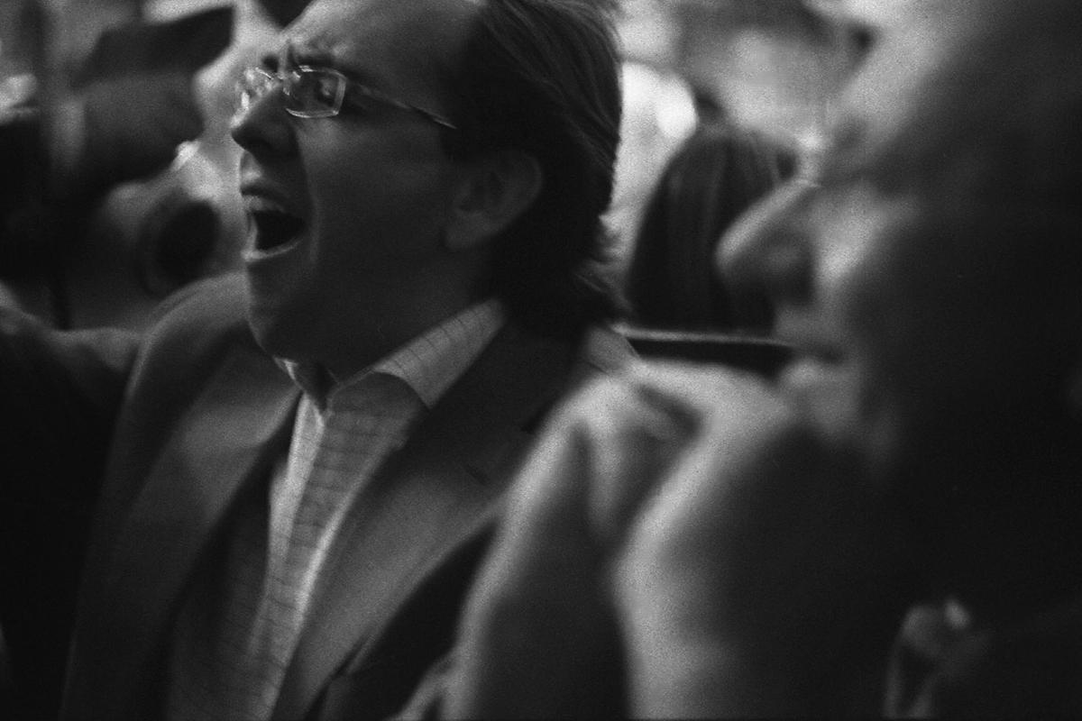 Les mariachis et Manuel Castro chantent Las Mañanitas pour les 63 ans de Maffesoli