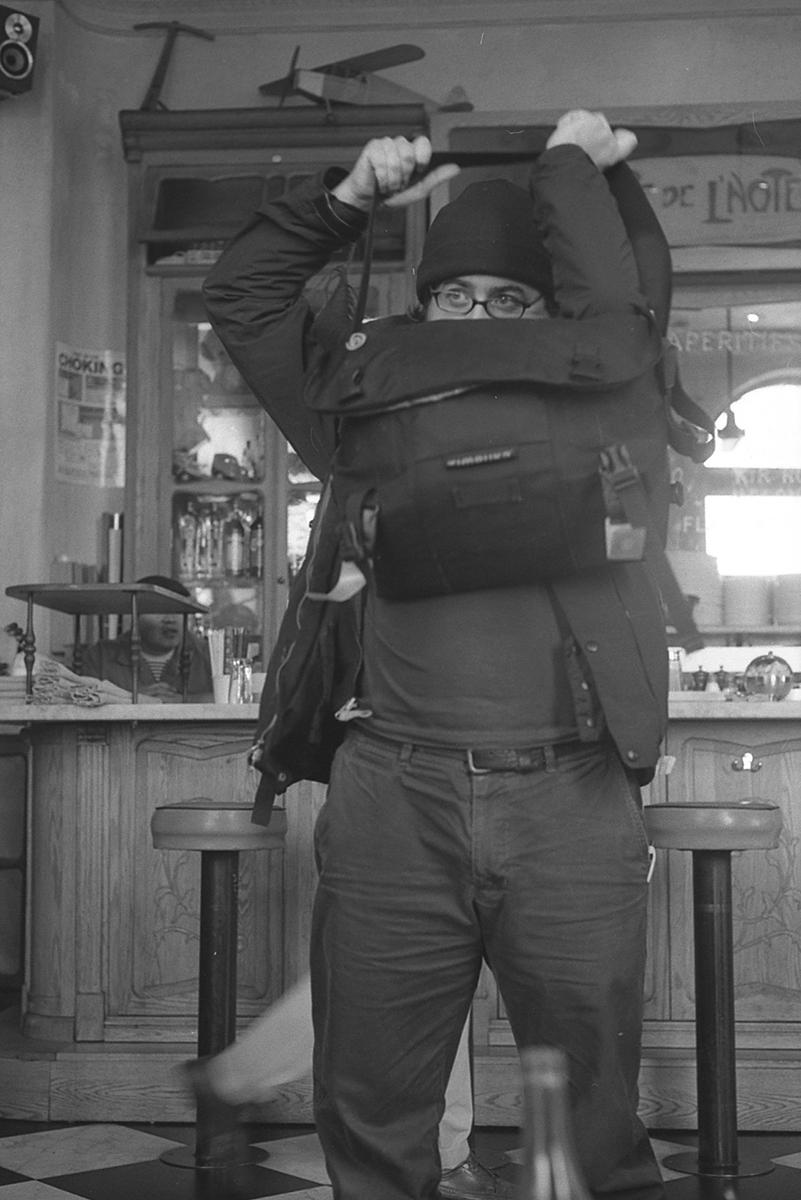 Kevin Obsatz au Café Gitane