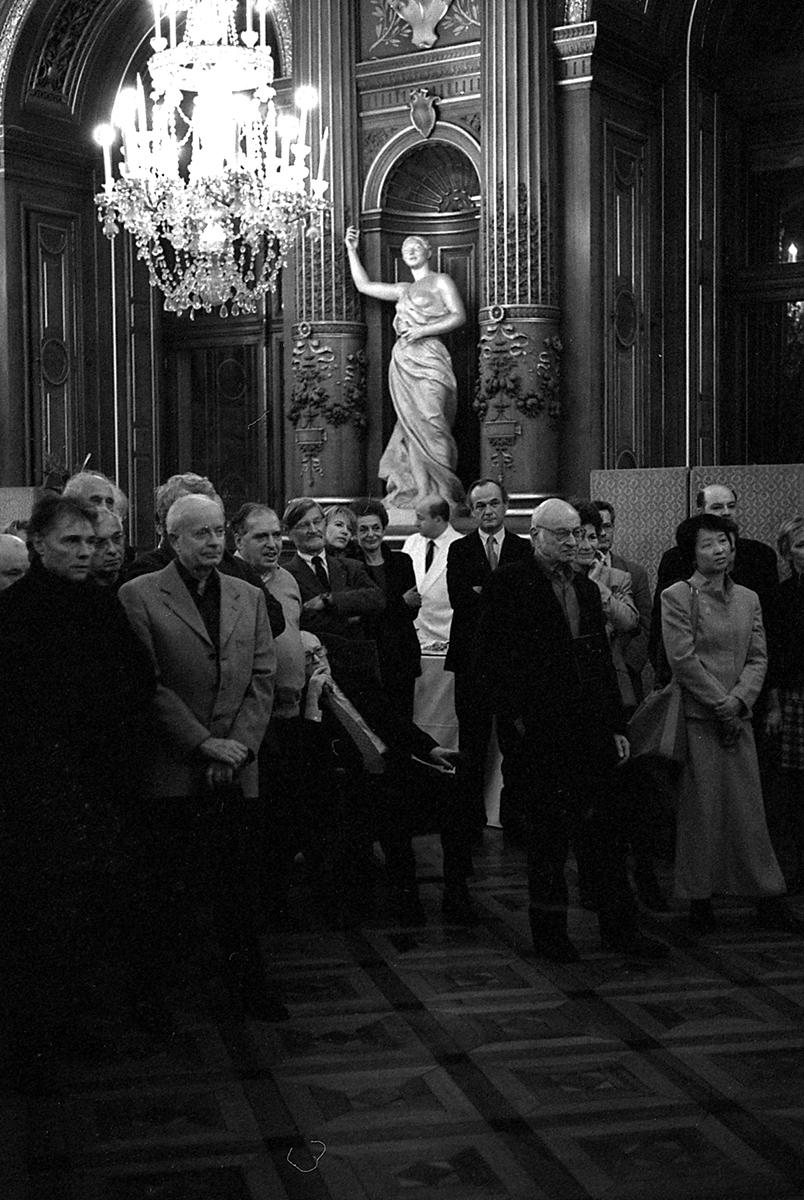 Remise de la légion d'honneur à  M.Maffesoli, Hôtel de ville